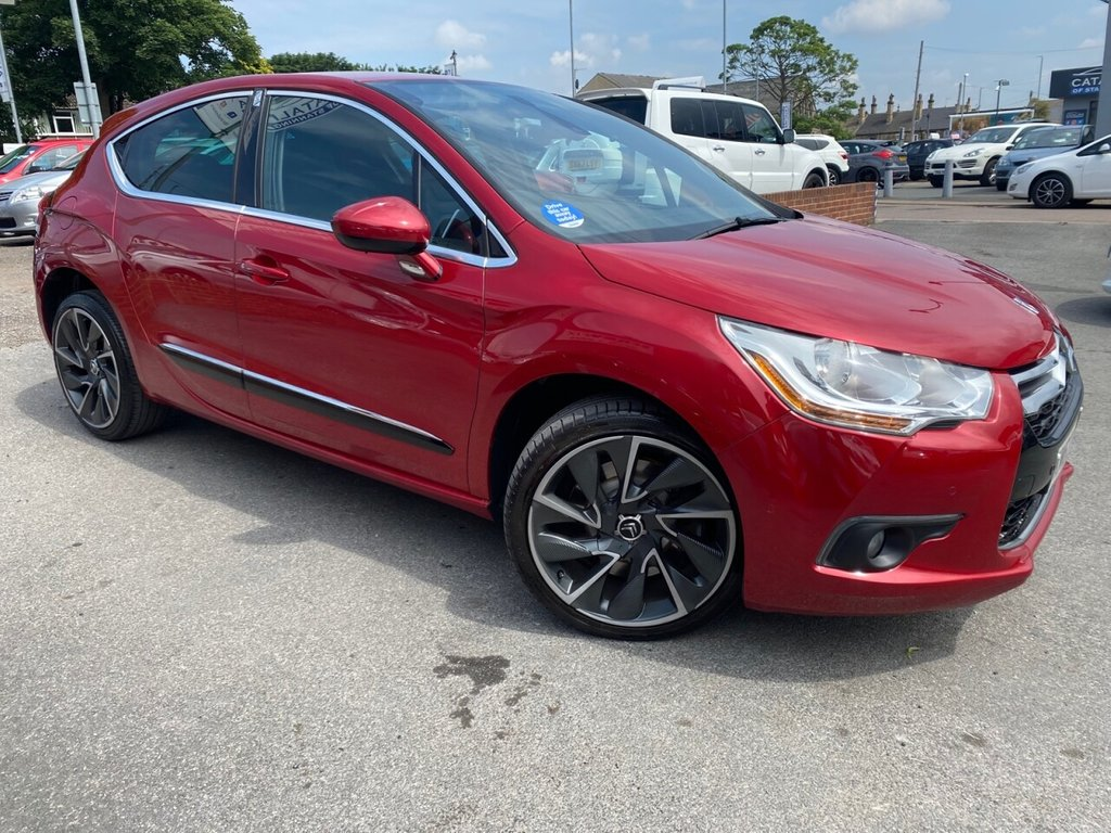 USED 2013 63 CITROEN DS4 1.6 THP DSPORT 5d 197 BHP GREAT ALLOY WHEELS-STUNNING COLOUR
