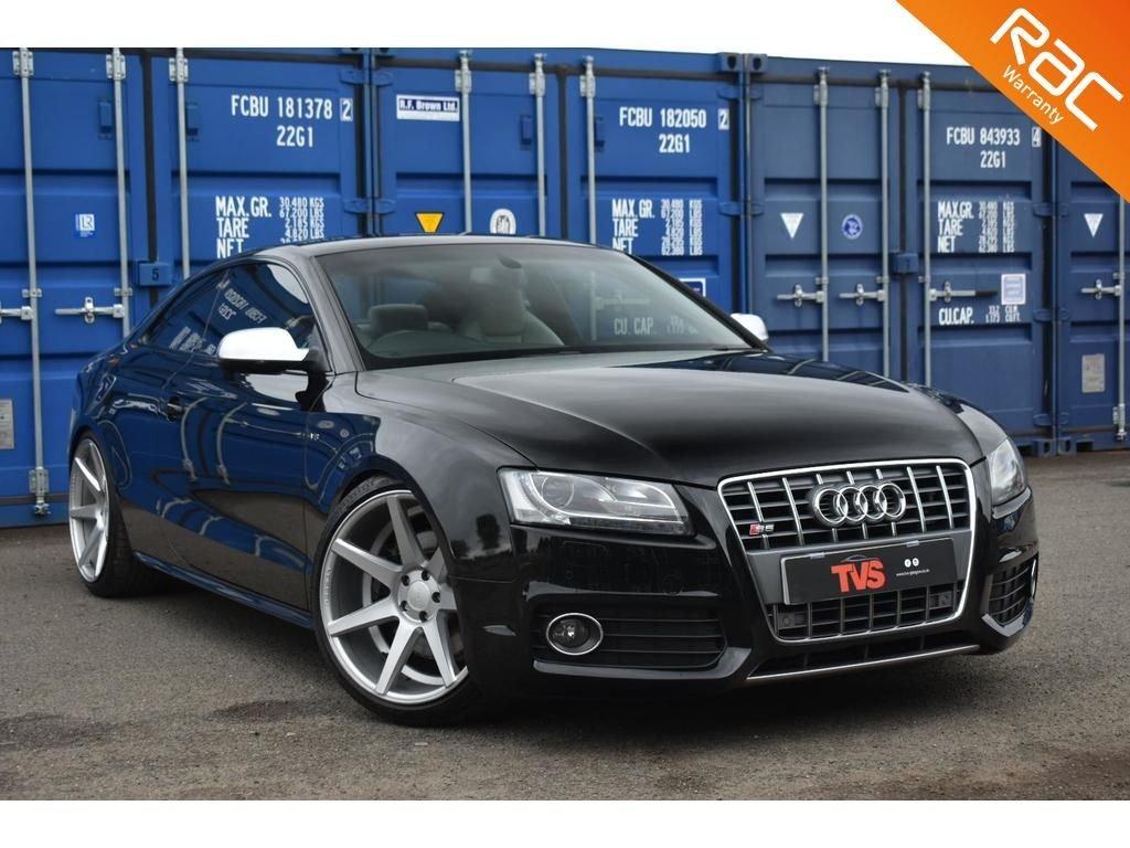 USED 2011 M AUDI A5 4.2 S5 V8 QUATTRO 2d 354 BHP VOSSEN WHEELS & MILLTEK EXHAUST!