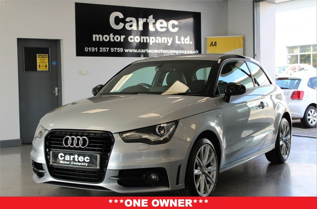 USED 2014 64 AUDI A1 1.4 TFSI S LINE STYLE EDITION 3d 121 BHP ***ONE OWNER***