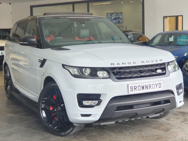 """USED 2015 65 LAND ROVER RANGE ROVER SPORT 3.0 AUTOBIOGRAPHY DYNAMIC 5d 336 BHP PAN ROOF+22"""" ALLOYS+HUGE SPEC"""