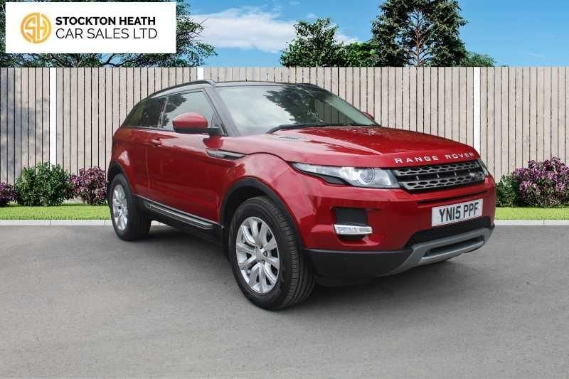 USED 2015 X LAND ROVER RANGE ROVER EVOQUE 2.2 SD4 PURE TECH 3d 190 BHP AVAILABLE TO TEST DRIVE