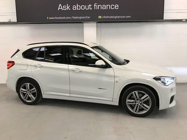 USED 2017 67 BMW X1 2.0 XDRIVE20D M SPORT 5d 188 BHP