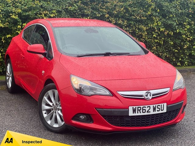 USED 2012 62 VAUXHALL ASTRA GTC 2.0 SRI CDTI 3d 162 BHP * AUTOMATIC * 12 MONTHS FREE AA BREAKDOWN COVER *