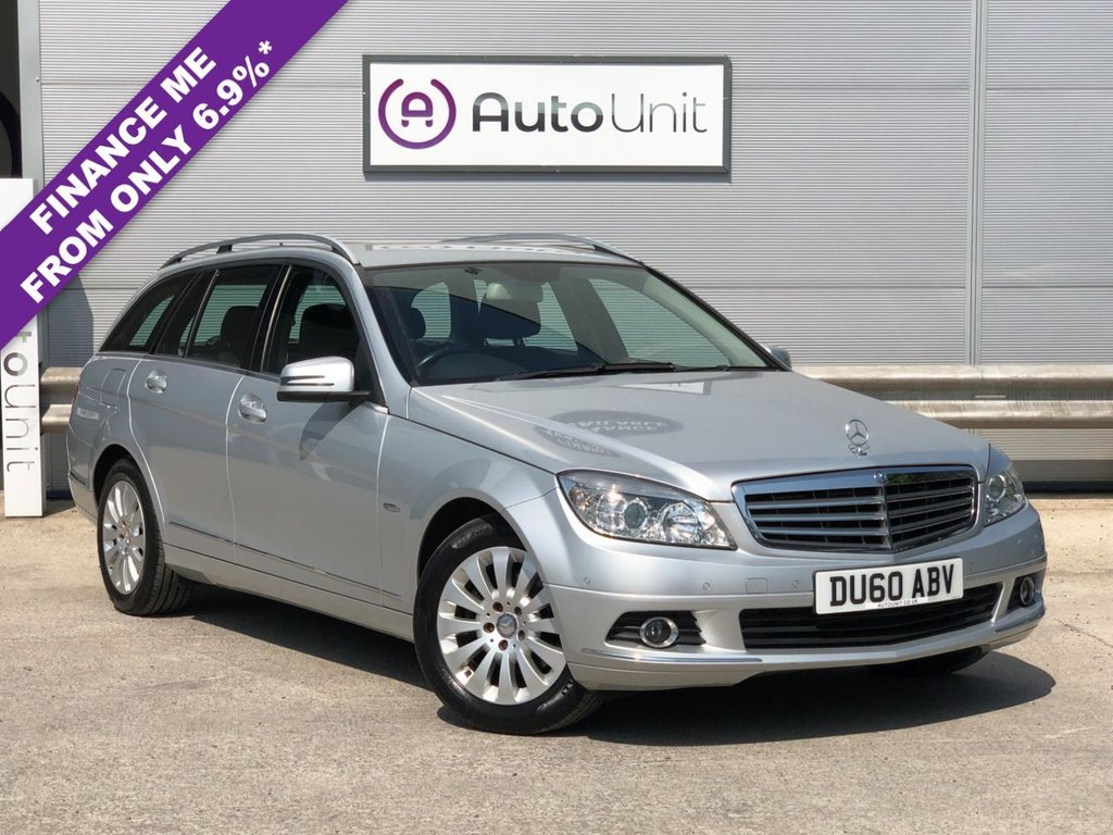 USED 2010 60 MERCEDES-BENZ C-CLASS 1.8 C180 CGI BLUEEFFICIENCY ELEGANCE 5d 156 BHP FRONT & REAR PARKING SENSORS + BLUETOOTH + DUAL CLIMATE CONTROL + FULL LEATHER WITH HEATED FRONT SEATS