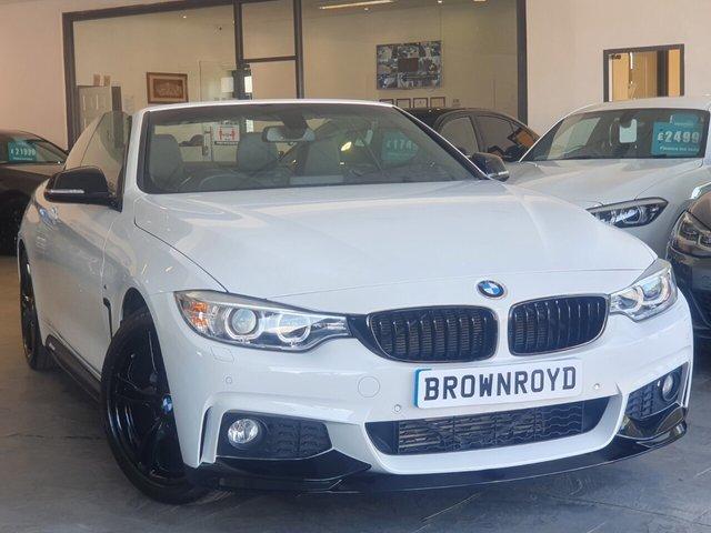 USED 2016 16 BMW 4 SERIES 2.0 420D M SPORT 2d 188 BHP BM PERFORMANCE STYLING+6.9%APR