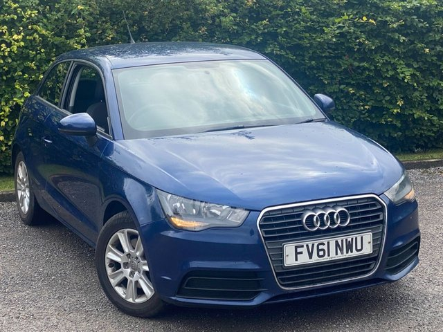 USED 2011 61 AUDI A1 1.6 TDI SE 3d 103 BHP * 12 MONTHS FREE AA MEMBERSHIP * ONLY 2 OWNERS FROM NEW *