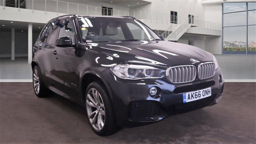 USED 2017 66 BMW X5 2.0 XDRIVE40E M SPORT 5d 242 BHP
