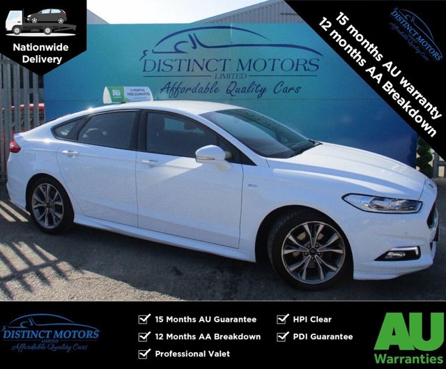 USED 2018 18 FORD MONDEO 2.0 ST-LINE TDCI 5d 148 BHP SAT-NAV+CRUISE+BLUETOOTH+ONLY 32K