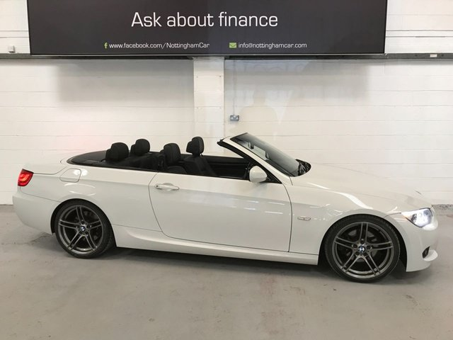 USED 2013 13 BMW 3 SERIES 3.0 330D M SPORT 2d 242 BHP *FABULOUS CONVERTIBLE*
