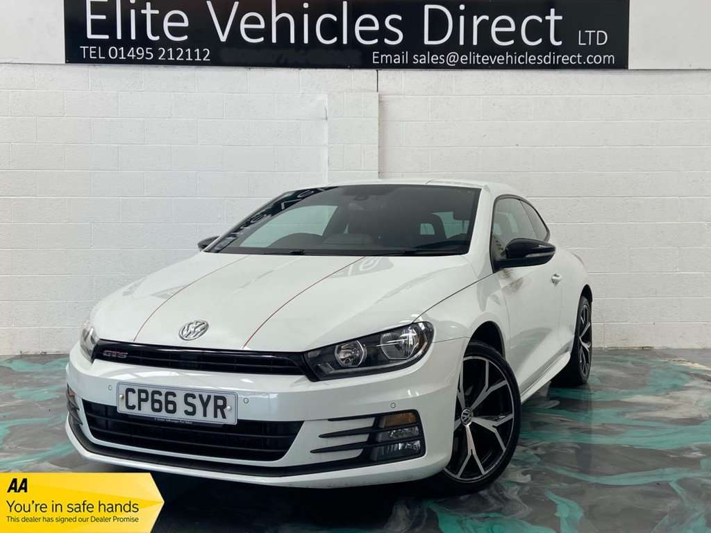 USED 2017 66 VOLKSWAGEN SCIROCCO 2.0 GTS TSI BMT 2d 218 BHP *FINANCE RATES FROM 6.9% APR