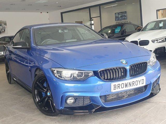 USED 2018 18 BMW 4 SERIES 2.0 420D M SPORT GRAN COUPE 4d 188 BHP BM PERFORMANCE STYLING+6.9%APR