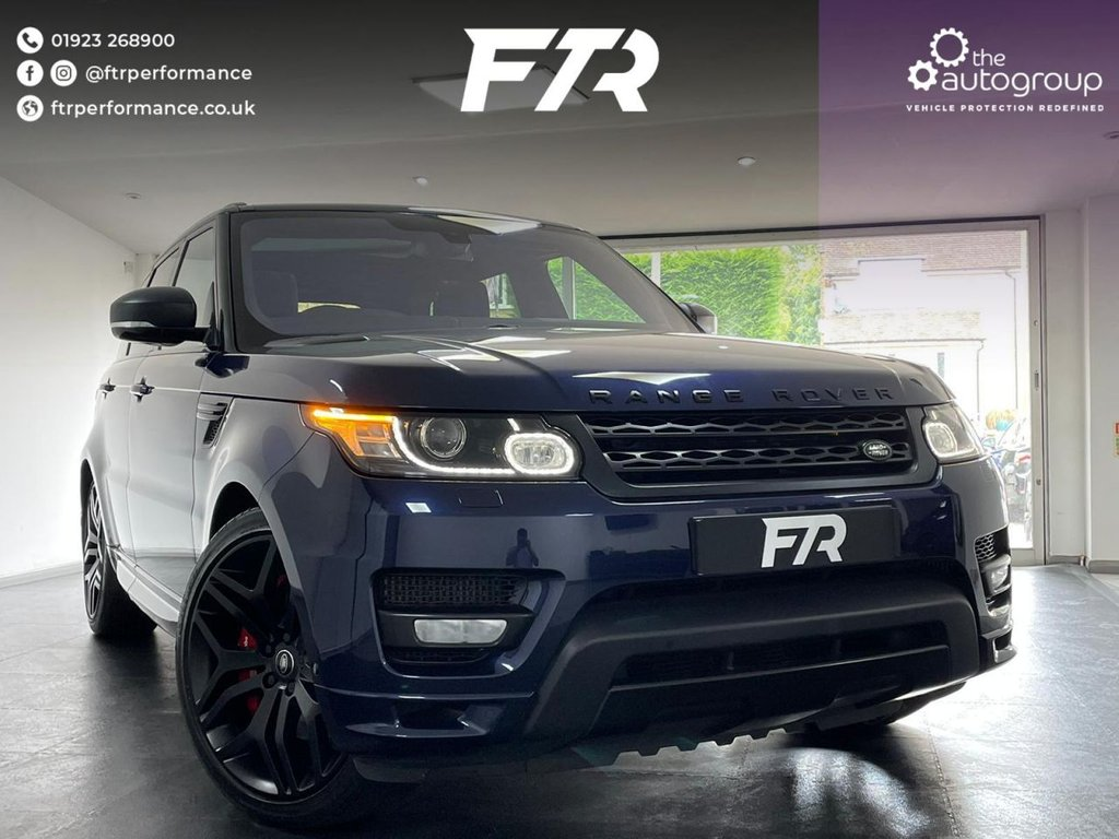 USED 2015 65 LAND ROVER RANGE ROVER SPORT 4.4 SDV8 AUTOBIOGRAPHY DYNAMIC 5d 339 BHP