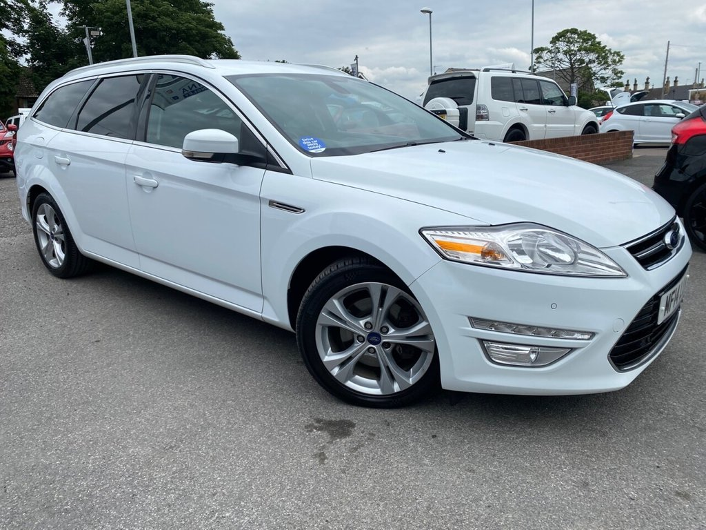 USED 2014 14 FORD MONDEO 2.0 TITANIUM X BUSINESS EDITION TDCI 5d 161 BHP 8 SERVICE STAMPS-£30 ROAD TAX-