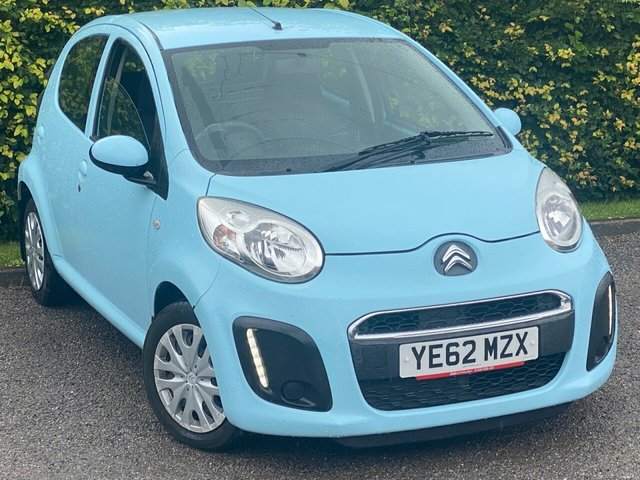 USED 2012 62 CITROEN C1 1.0 VTR 5d LOW MILEAGE, COMPREHENSIVE SERVICE HISTORY, 12 MONTHS MOT, AIR CONDITIONING