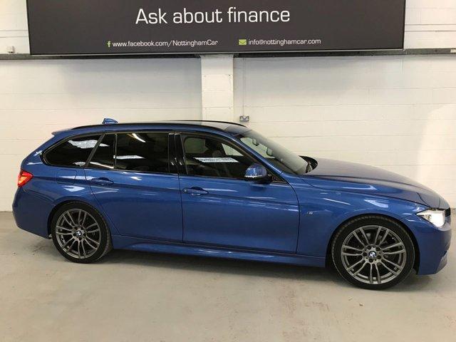 USED 2013 63 BMW 3 SERIES 2.0 320D M SPORT TOURING 5d 181 BHP