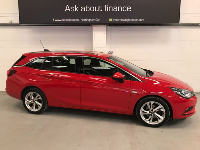 USED 2018 18 VAUXHALL ASTRA 1.4 SRI S/S 5d 148 BHP **ONE OWNER**Finance Available***