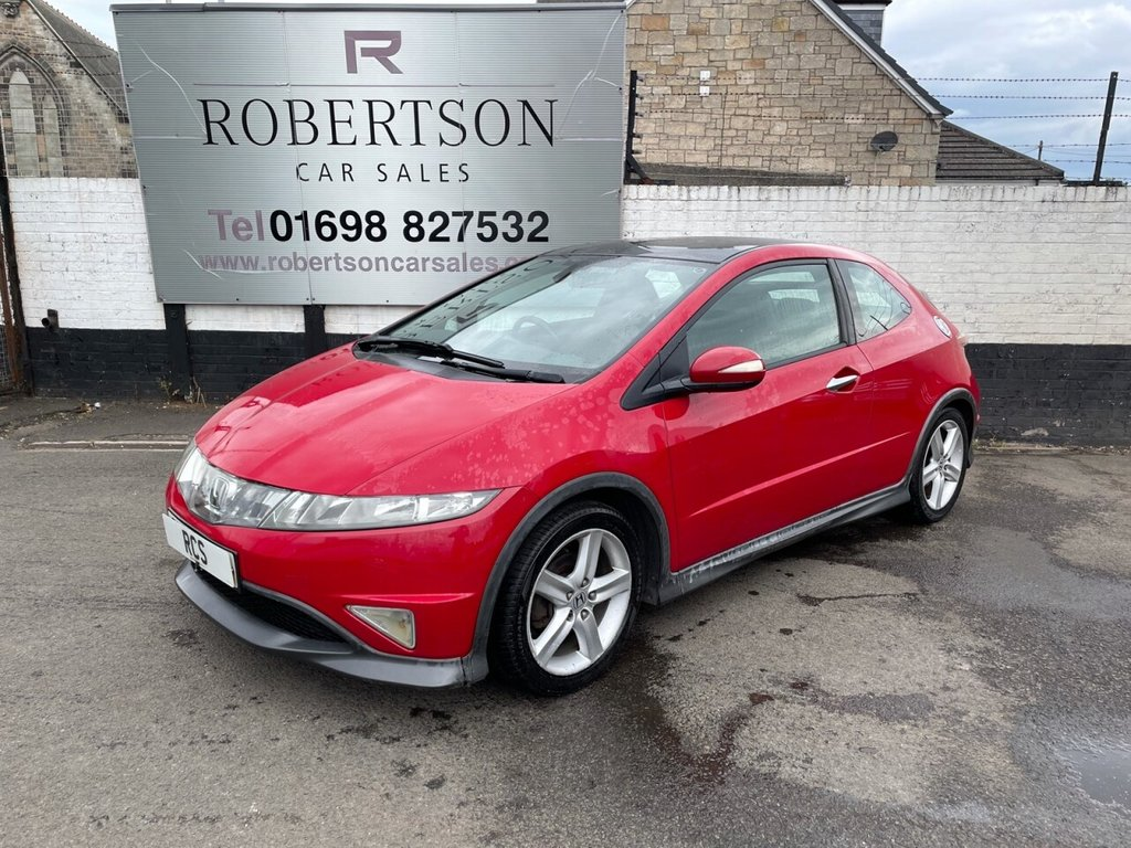 USED 2007 07 HONDA CIVIC 1.8 I-VTEC TYPE-S GT Automatic LOW MILEAGE AUTOMATIC