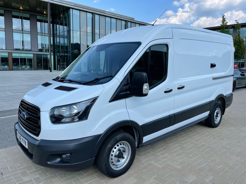 USED 2018 18 FORD TRANSIT 290 2.0TDCI 130ps L2 H2 FWD *AIRCON*E/W*BLUETOOTH* AIRCON-FWD-L2H1-SECURITY LOCKS
