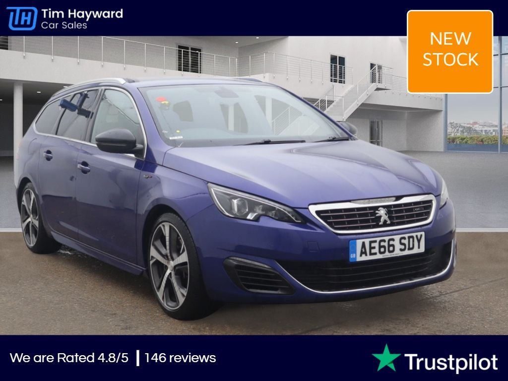 USED 2016 66 PEUGEOT 308 2.0 BLUE HDI S/S SW GT 5d 180 BHP