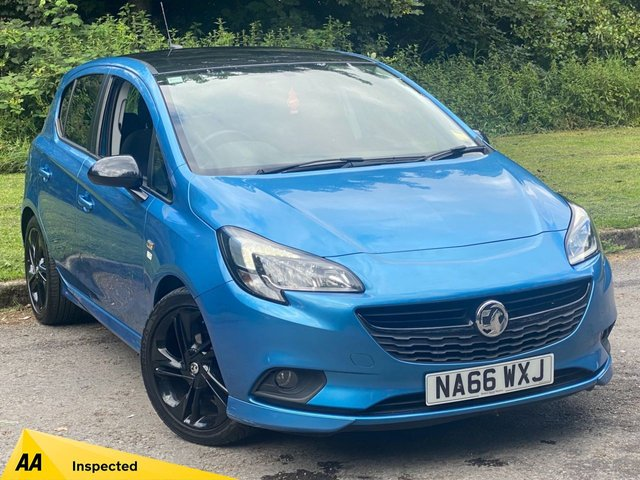 USED 2016 66 VAUXHALL CORSA 1.4 LIMITED EDITION ECOFLEX 5d 89 BHP FULL TOUCH SCREEN MEDIA, ALLOYS