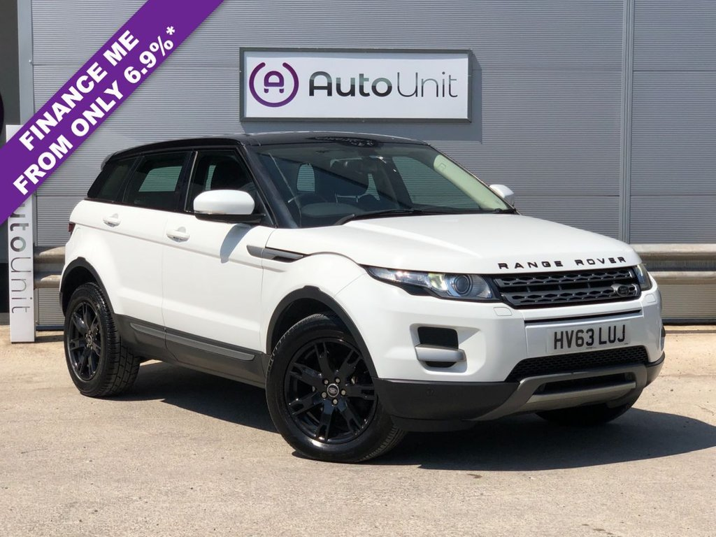 USED 2013 63 LAND ROVER RANGE ROVER EVOQUE 2.2 SD4 PURE TECH 5d 190 BHP PAN ROOF + NAV + HEATED SEATS