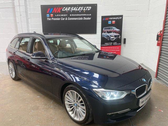 USED 2014 14 BMW 3 SERIES 2.0 325D LUXURY TOURING 5d 215 BHP BIG SCREEN SAT NAV EXENONS LIGHTS.HEATED SEATS DUE IN NEXT WEEK