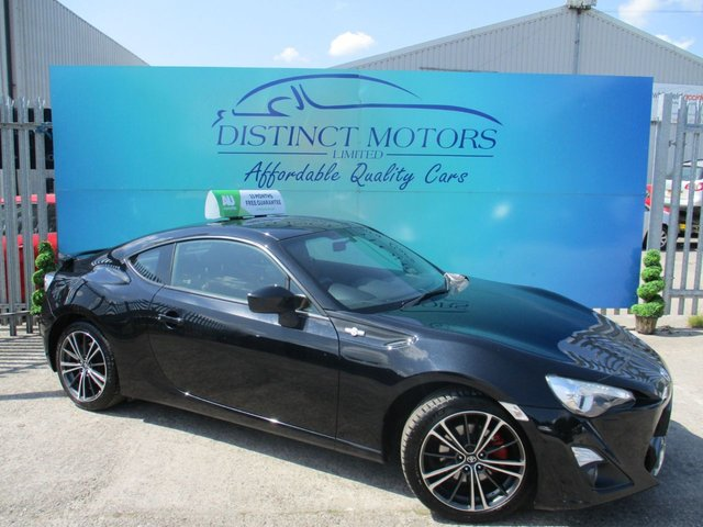 USED 2014 64 TOYOTA GT86 2.0 D-4S 2d 197 BHP ONLY 1 FORMER OWNER+A RARE AUTO
