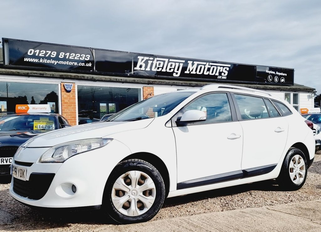 USED 2012 61 RENAULT MEGANE 1.5 EXPRESSION DCI ECO 5d 110 BHP