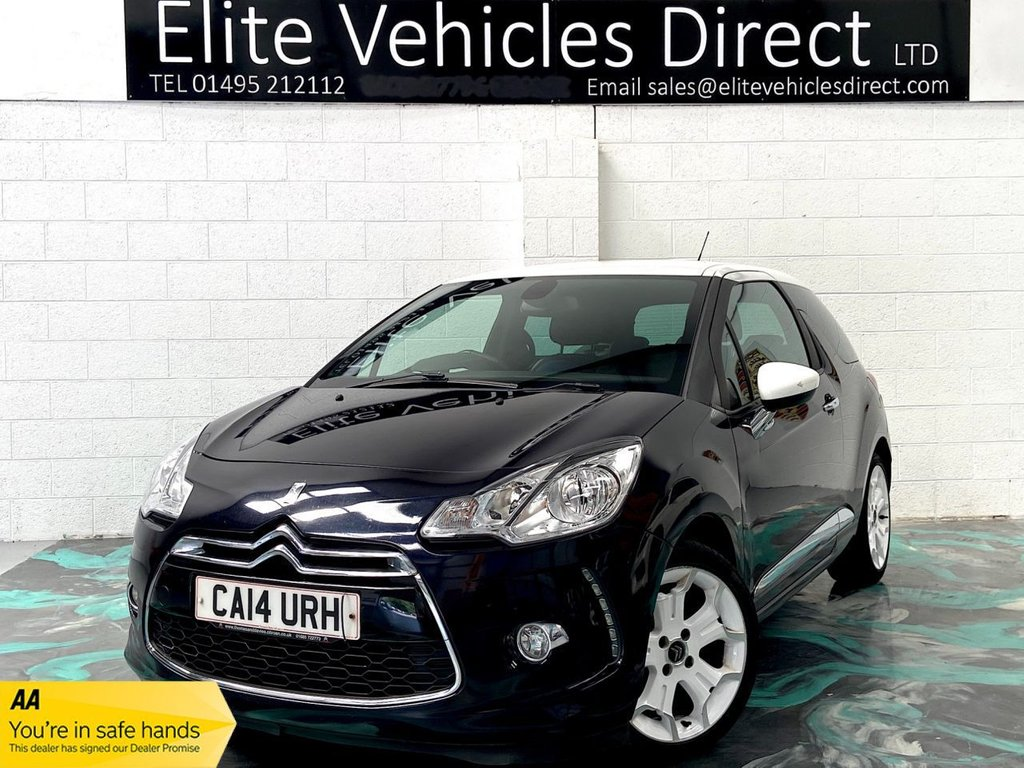 USED 2014 14 CITROEN DS3 1.6 E-HDI DSTYLE PLUS 3d 90 BHP *LOW RATE FINANCE FROM 6.9% APR