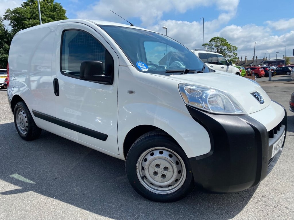 USED 2016 65 PEUGEOT BIPPER 1.2 HDI S 75 BHP ONLY 2 OWNERS-LOW MILES