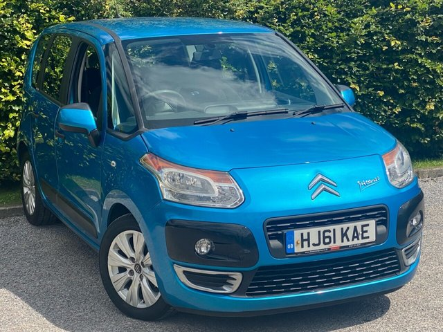 """USED 2011 61 CITROEN C3 PICASSO 1.6 VTR PLUS HDI 5d SERVICE HISTORY, 12 MONTHS MOT, CRUISE CONTROL, 16"""" ALLOY WHEELS"""