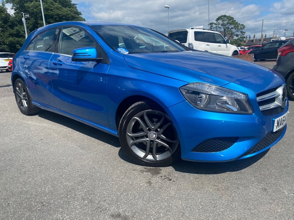USED 2014 60 MERCEDES-BENZ A-CLASS 1.5 A180 CDI BLUEEFFICIENCY SPORT 5d 109 BHP JUST HAD THE ALLOYS REFURBISHED