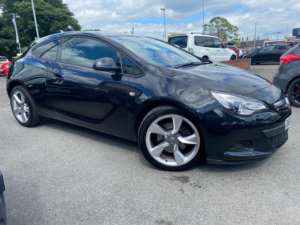 USED 2013 63 VAUXHALL ASTRA GTC 1.4 SPORT S/S 3d 118 BHP GREAT COLOUR-BEAUTIFUL ALLOYS