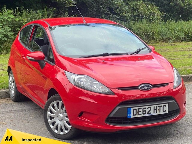 USED 2012 62 FORD FIESTA 1.2 EDGE 3d 59 BHP GREAT VALUE FOR MONEY STARTER CAR