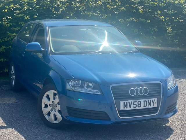 USED 2008 AUDI A3 1.6 3dr * 2 OWNERS FROM NEW * 12 MONTHS FREE AA MEMBERSHIP *