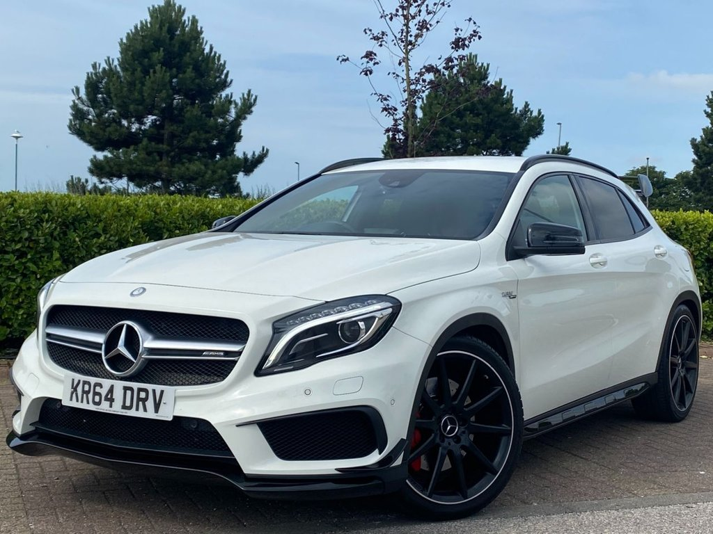 USED 2014 64 MERCEDES-BENZ GLA-CLASS 2.0 GLA45 AMG 4MATIC 5d 431 BHP (STAGE 2 RE MAP) ** AMG NIGHT PACK **