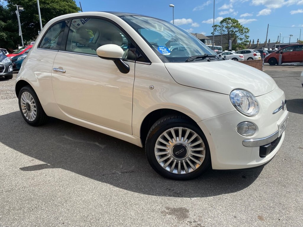USED 2012 62 FIAT 500 1.2 LOUNGE 3d 69 BHP ONLY £30 TAX A YEAR