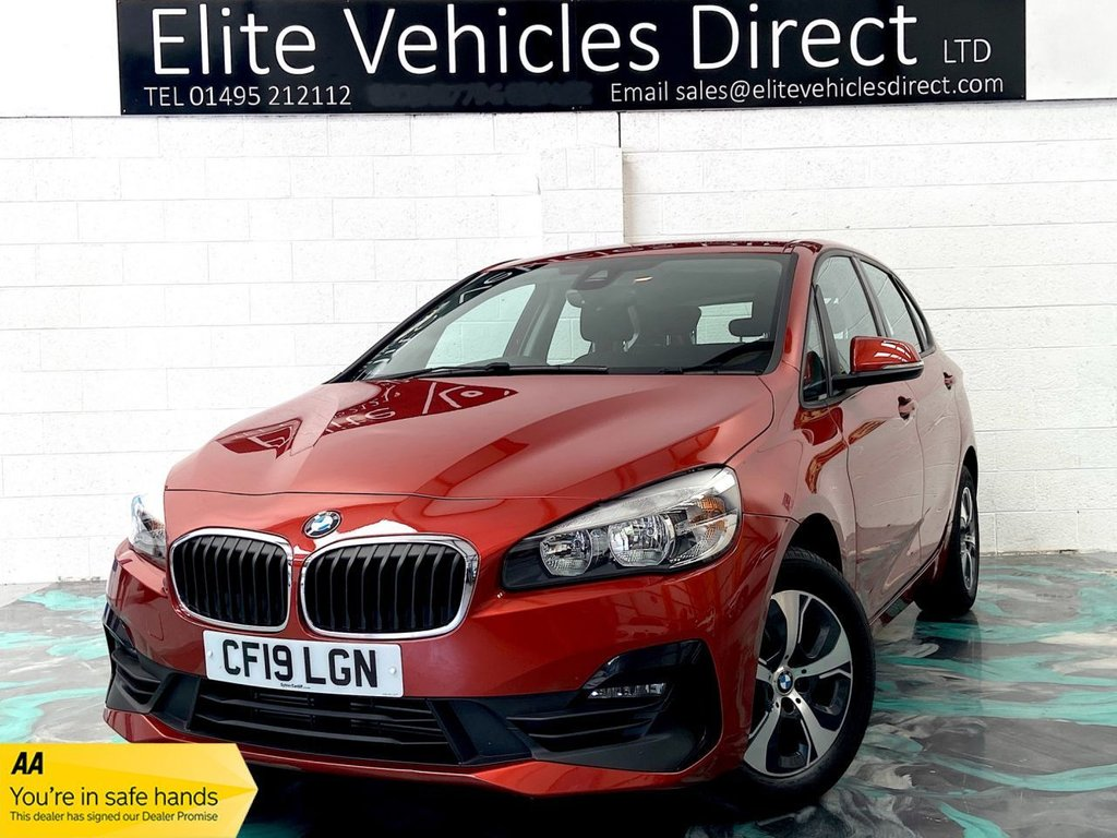 USED 2019 19 BMW 2 SERIES 1.5 218I SE ACTIVE TOURER 5d 139 BHP *LOW RATE FINANCE FROM 6.9% APR