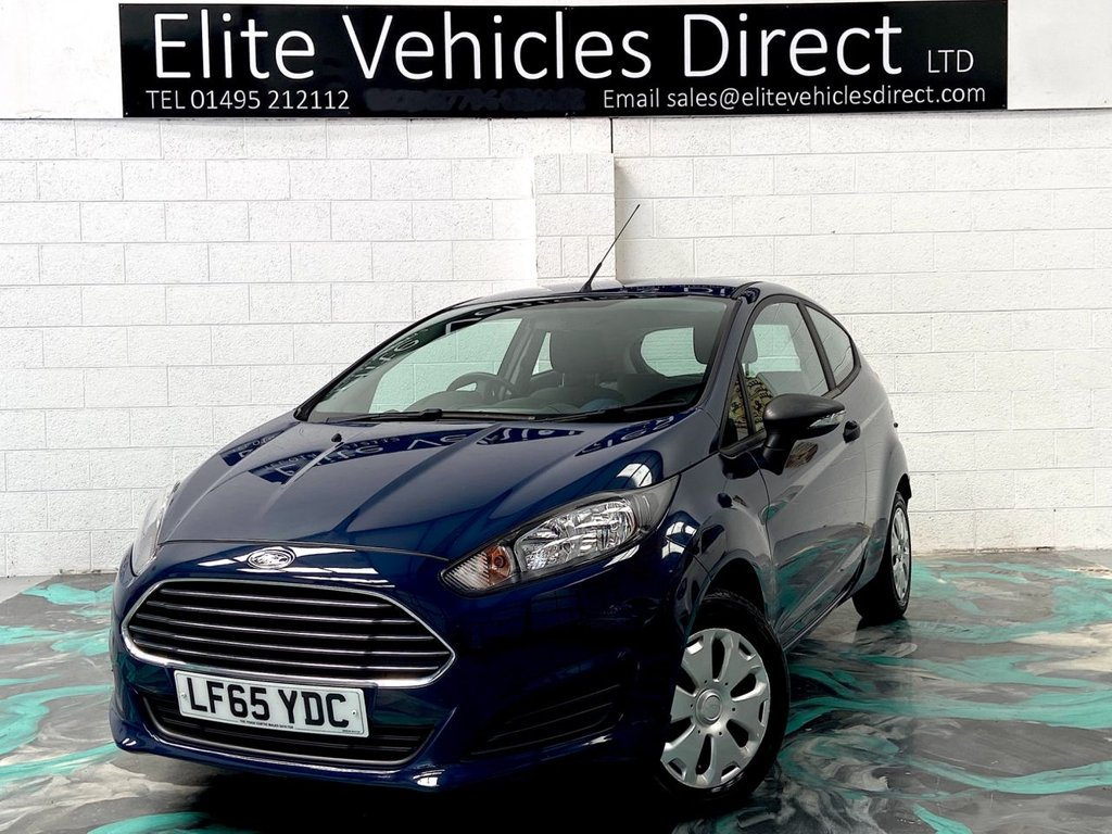 USED 2015 65 FORD FIESTA 1.2 STUDIO 3d 59 BHP *LOW RATE FINANCE FROM 6.9% APR