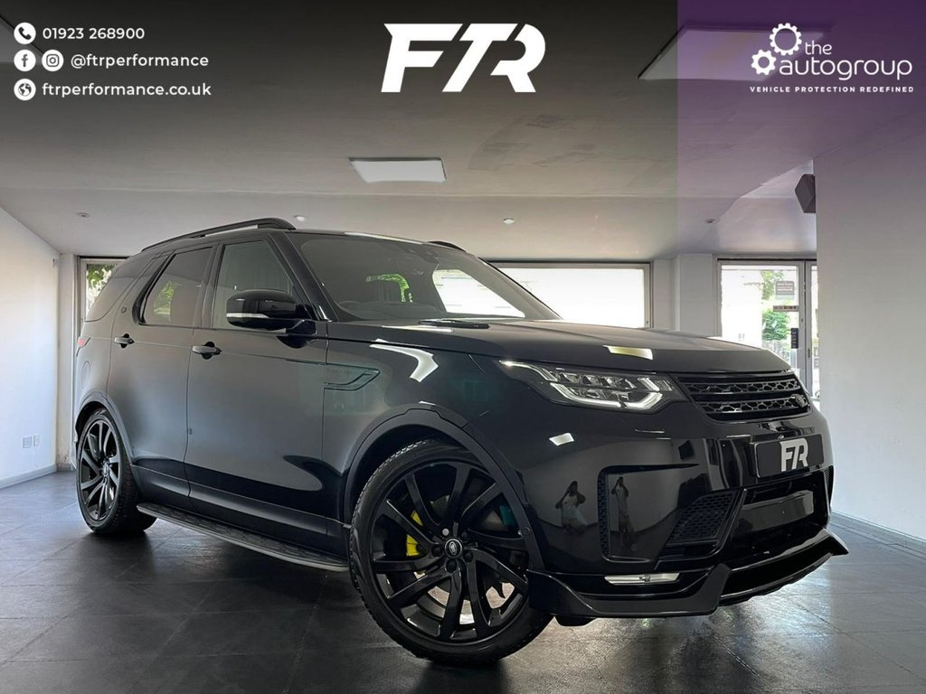 USED 2018 18 LAND ROVER DISCOVERY 3.0 TD6 HSE LUXURY 5d 255 BHP