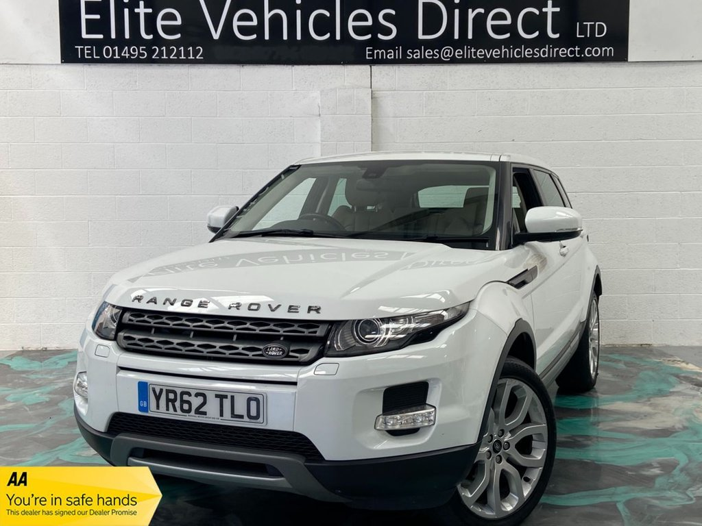 USED 2012 62 LAND ROVER RANGE ROVER EVOQUE 2.2 SD4 PURE 5d 190 BHP *LOW RATE FINANCE FROM 6.9% APR