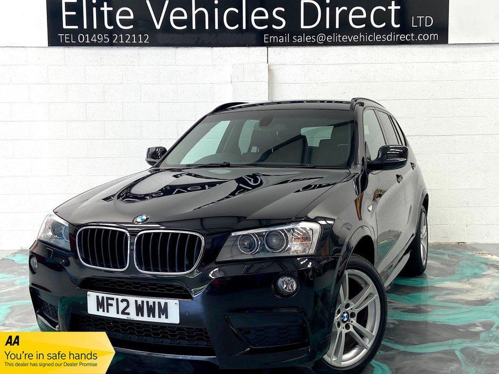 USED 2012 12 BMW X3 2.0 XDRIVE20D M SPORT 5d 181 BHP ESTATE