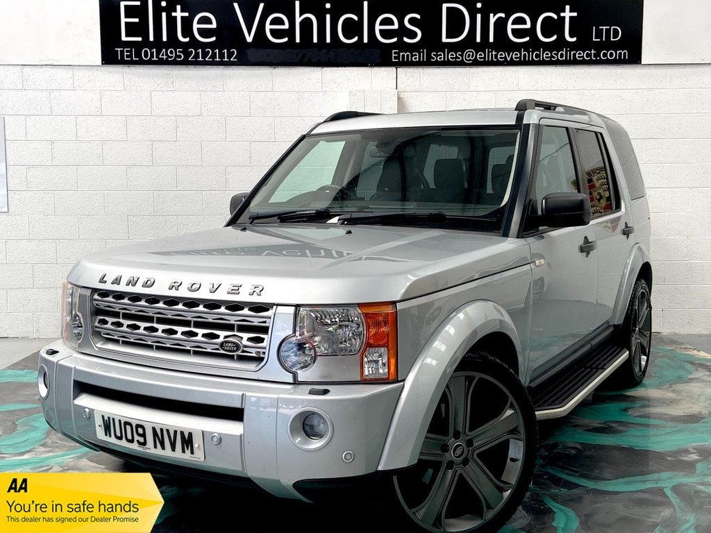 USED 2009 09 LAND ROVER DISCOVERY 2.7 3 TDV6 SE 5d 188 BHP *LOW RATE FINANCE FROM 6.9% APR