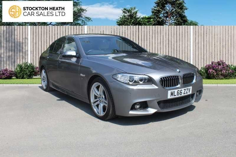 USED 2016 66 BMW 5 SERIES 3.0 530D M SPORT 4d 255 BHP AVAILABLE TO TEST DRIVE