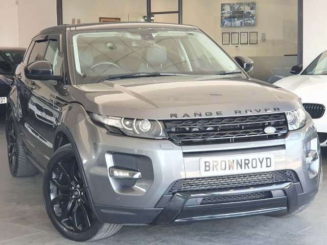 USED 2015 15 LAND ROVER RANGE ROVER EVOQUE 2.2 SD4 DYNAMIC 5d 190 BHP PAN ROOF+H-UP+BLK PK+SAT NAV