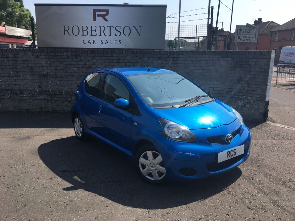 USED 2010 10 TOYOTA AYGO 1.0 BLUE VVT-I 5dr LOW INSURANCE & VERY ECONOMICAL