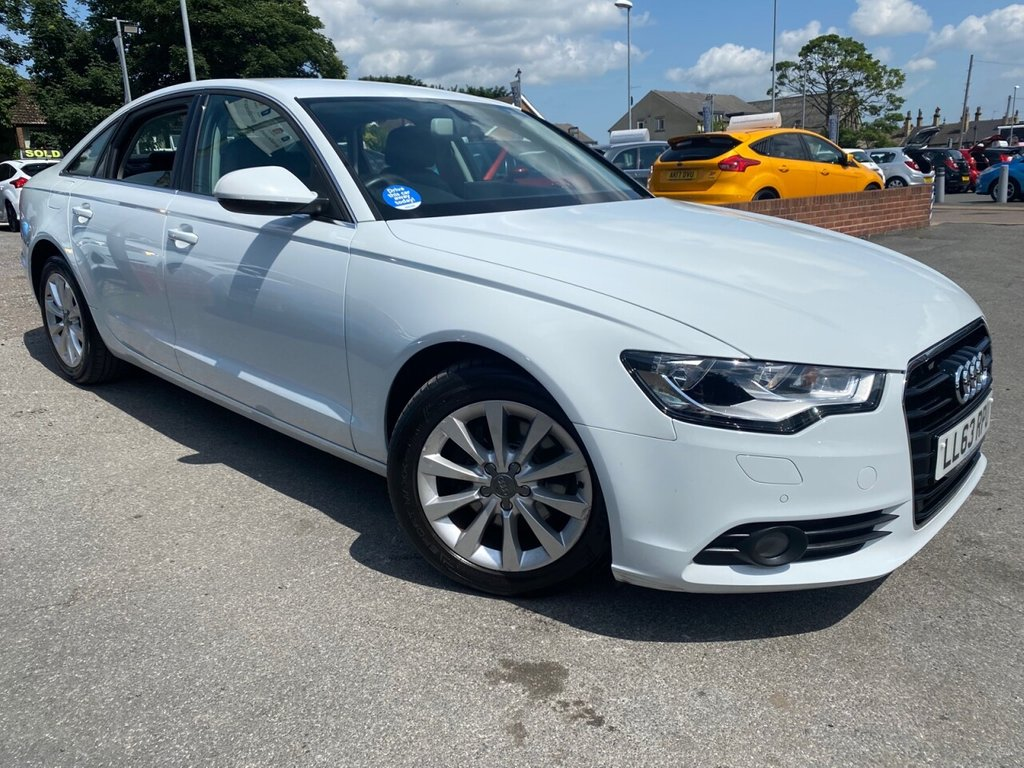 USED 2013 63 AUDI A6 2.0 TDI SE 4d 175 BHP 7 SERVICES-LOW MILES-GREAT SPEC