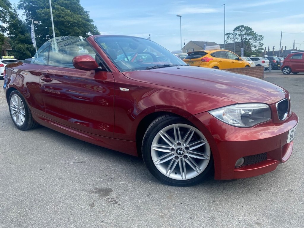 USED 2013 62 BMW 1 SERIES 2.0 118D M SPORT 2d 141 BHP LOW MILES-SERVICE HISTORY-STUNNING