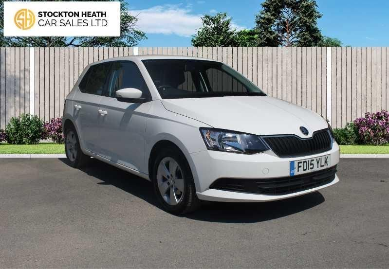 USED 2015 15 SKODA FABIA 1.2 SE TSI 5d 89 BHP AVAILABLE TO TEST DRIVE