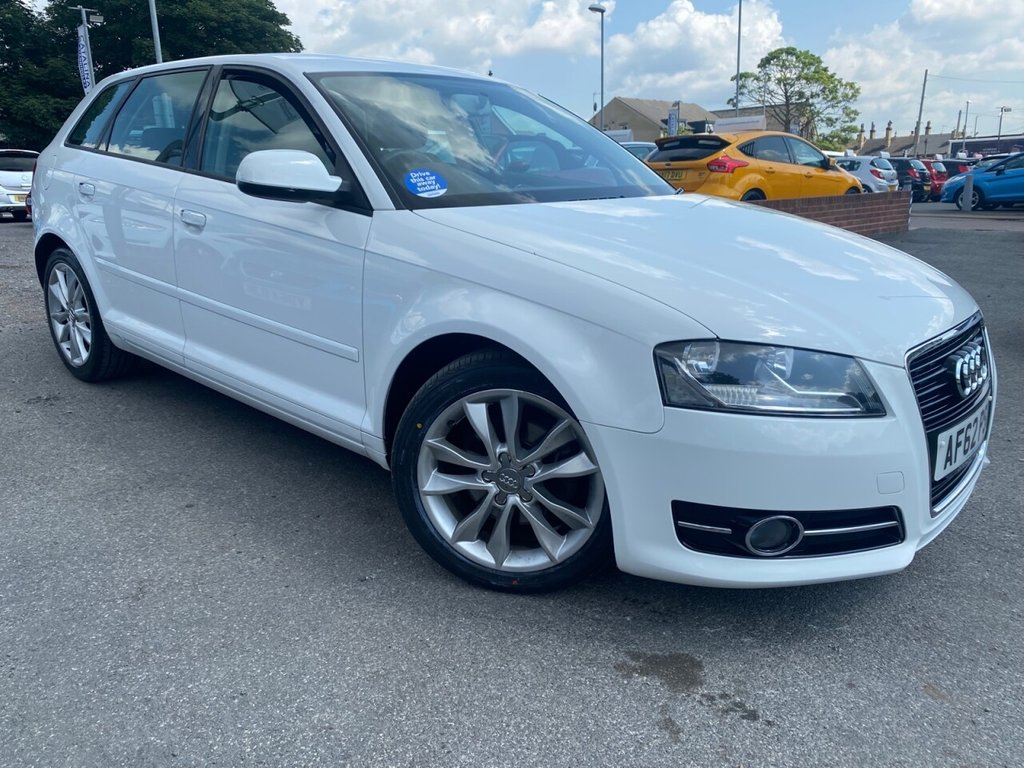 USED 2012 62 AUDI A3 2.0 SPORTBACK TDI SPORT 5d 138 BHP SUPERB EXAMPLE-MUST BE SEEN